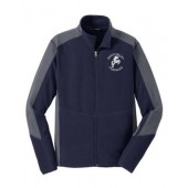Sioux Valley PTO 17 Mens Port Authority Colorblock Microfleece Jacket