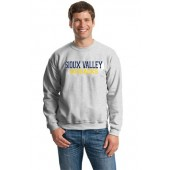 Sioux Valley PTO 08 Adult Gildan Crewneck  Sweatshirt