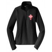 Christ the King 07 SportTek Womens 1/4 zip
