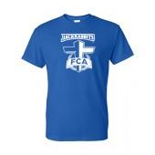 SDSU FCA 01 Gildan 50/50 Short Sleeve T-shirt