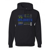 Bling 05 JERZEES - NuBlend® Hooded Sweatshirt