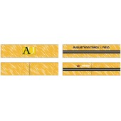 Augustana Track & Field 07 Sublimated Head Band