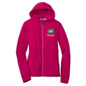 Childrens Museum Fall 2015 03 Ladies Microfleece Full Zip Hooded Jacket