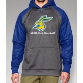 SDSU Club Baseball 07 Under Armour Storm Armour Fleece Hooded Sweatshirt