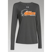Rock Valley Basketball 08 UA Ladies Long Sleeve Locker Tee