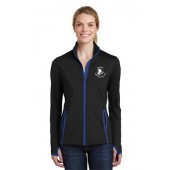 Brookings Figure Skating Club 01 Ladies Sport Tek Full Zip Jacket