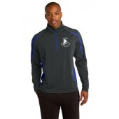 Brookings Figure Skating Club 03 Men's Sport Tek ½ Zip Pullover
