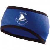 Brookings Figure Skating Club 08 Ladies Holloway Headband with Ponytail opening
