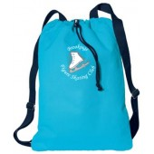 Brookings Figure Skating Club 09 Port Authority Canvas Cinch Sack