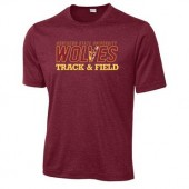 NSU Track and Field 01 Sport-Tek® Heather Contender™ Tee