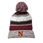 NSU Track and Field 11 Sport-Tek® Pom Pom Team Beanie