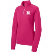 NSU Track and Field 09 Sport-Tek® Ladies Sport-Wick® Textured 1/4-Zip Pullover