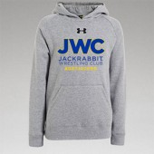 Jackrabbit Wrestling Club 04 Youth Under Armour 80/20 Blend Hoody