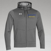 Jackrabbit Wrestling Club 10 Mens and Ladies Under Armour Storm Fleece Hooded Full Zip
