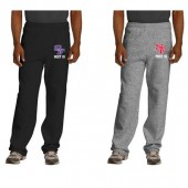 SEBA Post 15 09 Jerzee Pocketed Open Bottom Sweatpants