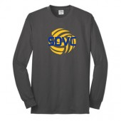 SD Club Volleyball 04 Adult and Youth Port and Co Longsleeve T Shirt