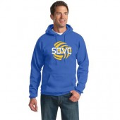 SD Club Volleyball 05 Adult and Youth Port and Co Hooded Sweatshirt