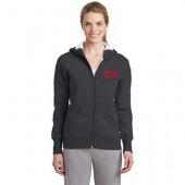 BHS Gymnastics 05 Ladies Sport Tek Full Zip Hooded Sweatshirt