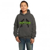 Riptide Wrestling 14 Gildan Youth Heavy Blend Hooded Sweatshirt