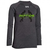 Riptide Wrestling 16 Youth UA Locker Short Tee Long Sleeve