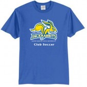 SDSU Soccer Club 01 50/50 Cotton Poly Blend Short Sleeve