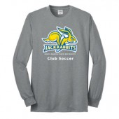 SDSU Soccer Club 02 50/50 Cotton Poly Blend Long Sleeve