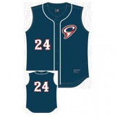 Cyclones Uniform Store 04 Alleson Youth Vest Navy
