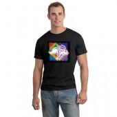 SDSU GSA 02 100% Ringspun Cotton Short Sleeve T Shirt