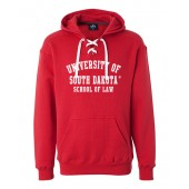 USD Law School 2016 08 Hockey Sweatshirt with corresponding laces