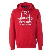 USD Law School 2016 08 Hockey Sweatshirt with corresponding laces