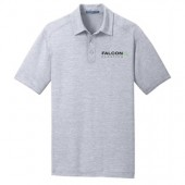 Falcon Plastics 01 Mens and Ladies Port Authority Heathered Performance Polo