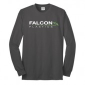 Falcon Plastics 09 Port and Co 50/50 Blend Long Sleeve T Shirt