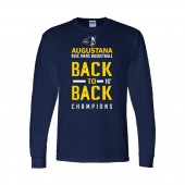 Augustana Basketball NSIC 02 Champs Long Sleeve t-shirt- PC61LS