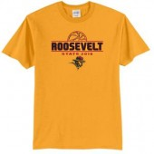 RHS State Basketball 01 50/50 Blend T-shirt