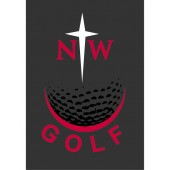Northwestern Golf 01 Window Decal