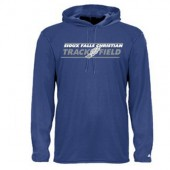 SFC Track & Field 08 Badger Unisex B-Core Long Sleeve Hood Tee