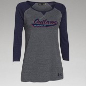 Outlaw Softball 2016 03 Ladies Under Armour ¾ Sleeve T Shirt