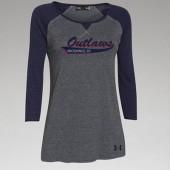 Outlaw Softball 2016 03 Ladies Under Armour ¾ Sleeve T Shirt