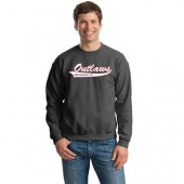 Outlaw Softball 2016 04 Gildan Adult and Youth Crewneck Sweatshirt