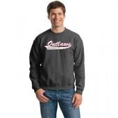 Outlaw Softball 2016 04 Gildan Adult and Youth Crewneck Sweatshirt