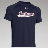Outlaw Softball 2016 05 Adult and Youth Under Armour Short Sleeve T Shirt