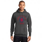Brookings Hockey State Champs 04 Port and Co 50/50 Cotton Poly Blend Hooded Sweatshirt