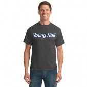 SDSU Young Hall 01 Port & Co 50/50 Short Sleeve T-shirt