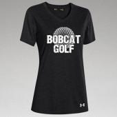 BHS Golf 2016 01 Under Armour Ladies Stadium V Neck T Shirt (Cotton Poly Blend)