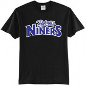 Dakota Niners Basketball 03 Port and Co 50/50 Cotton Poly Short Sleeve T Shirt