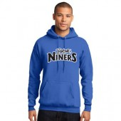 Dakota Niners Basketball 05 Port and Co 50/50 Cotton Poly Blend Hooded Sweatshirt