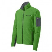 Falcon Plastics 07 Mens and Ladies Port Authority Full Zip Fleece Jacket