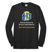 SDSU Dairy Science 02 Port & Co 50/50 Long Sleeve T-shirt