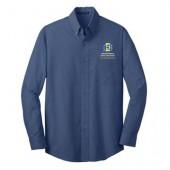 SDSU Dairy Science 10 Port Authority Men's Crosshatch easy care shirt