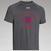 Brookings Hockey State Champs 01 Under Armour Short Sleeve T Shirt